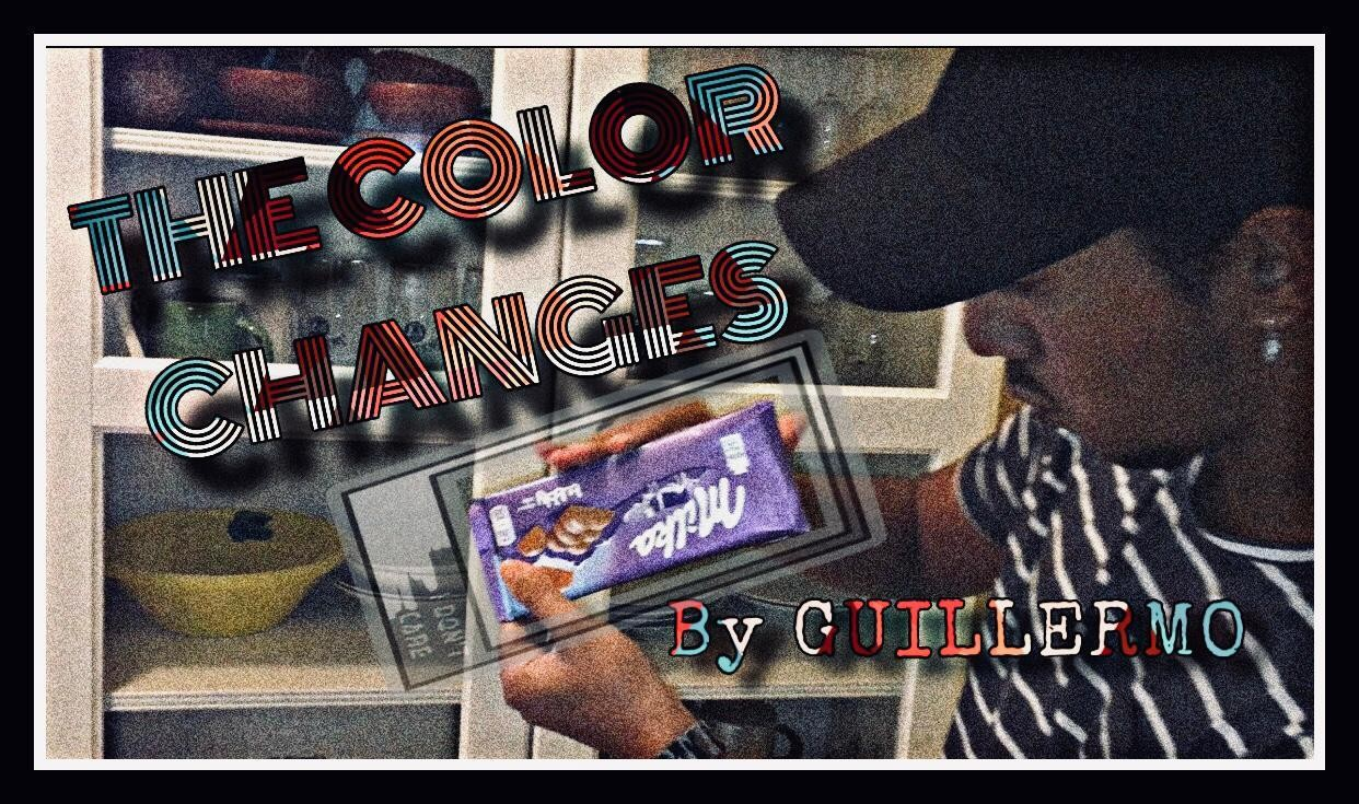The color changes By Guillermo