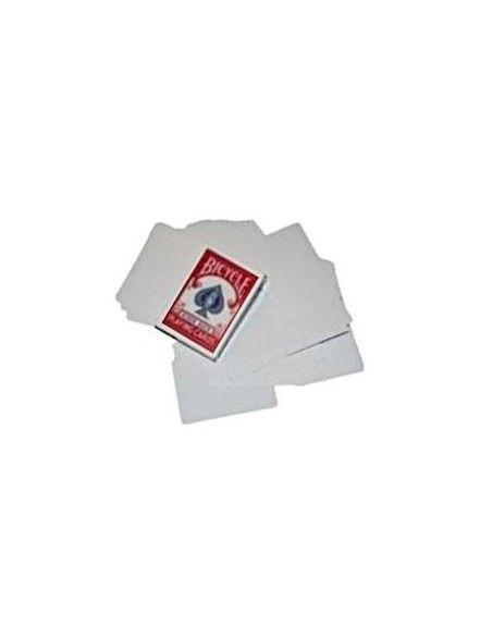 Baraja bicycle doble blanco US Playing Card Co. Barajas Gaff