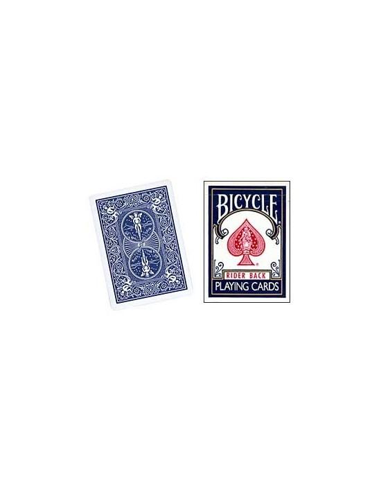 Baraja bicycle doble dorso azul-azul US Playing Card Co. Barajas Gaff