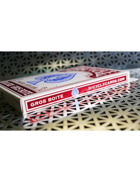Baraja bicycle gigante rojo US Playing Card Co. Jumbo