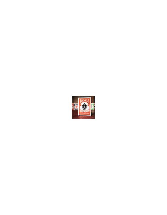 Baraja bicycle dorso naranja US Playing Card Co. Póquer