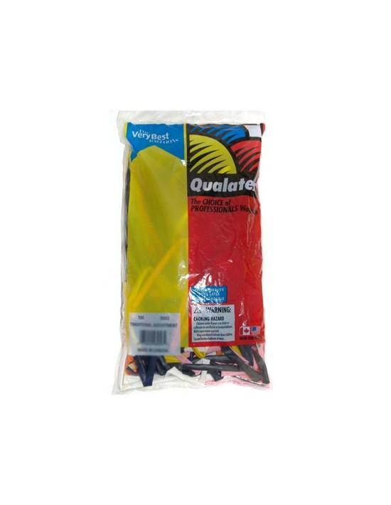 Bolsa globos qualatex colores surtidos (260q) Qualatex Globoflexia