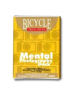 Baraja bicycle mental photo US Playing Card Co. Otras Barajas Especiales