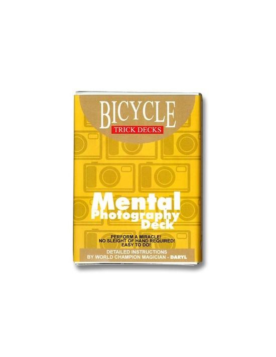 Baraja bicycle mental photo US Playing Card Co. Otras Barajas Especiales