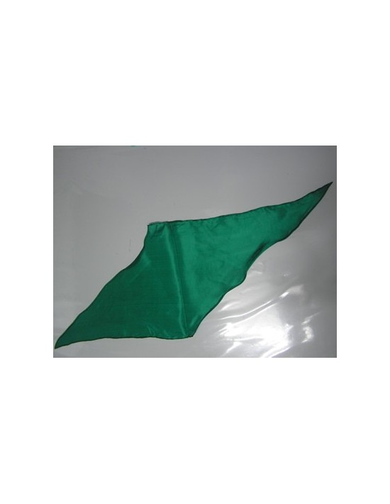 Pañuelo de seda rombo verde oscuro Varios Pañuelos Rombo