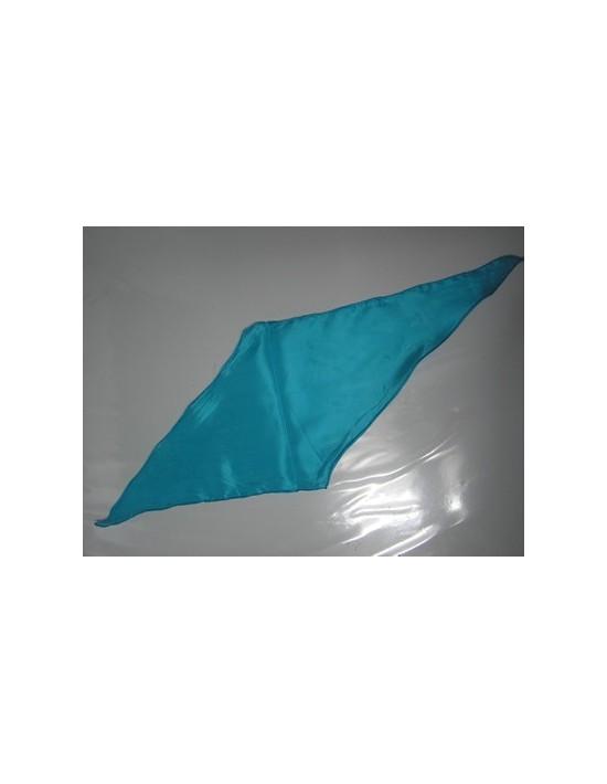 Pañuelo de seda rombo turquesa Varios Pañuelos Rombo