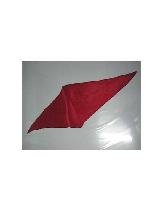 Pañuelo de seda rombo rojo Varios Pañuelos Rombo