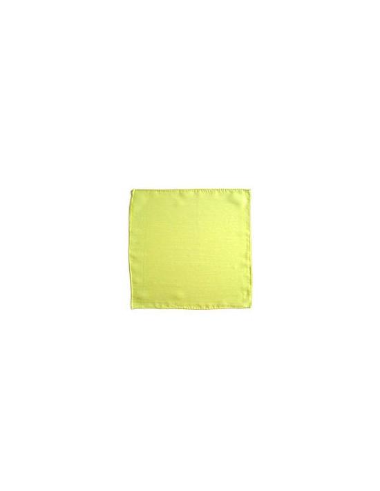 """Pañuelo de seda 15x15 limón (6"""") Varios Pañuelos 15x15"""