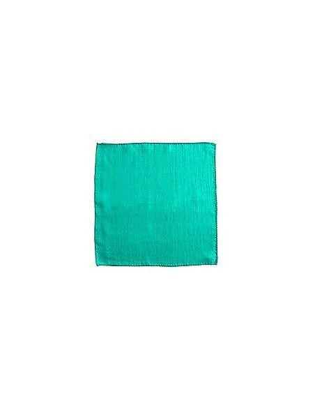 """Pañuelo de seda 15x15 verde oscuro (6"""") Varios Pañuelos 15x15"""