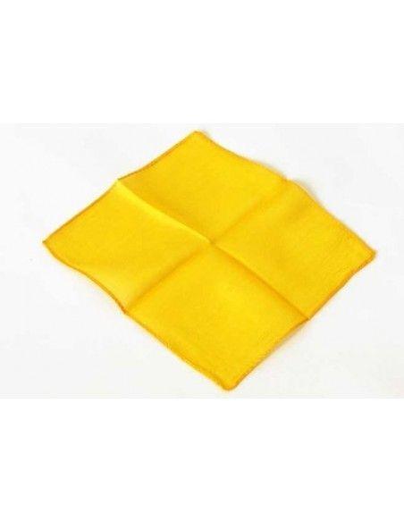 "Pañuelo de seda 45x45 amarillo (18"") Varios Pañuelos 45x45"