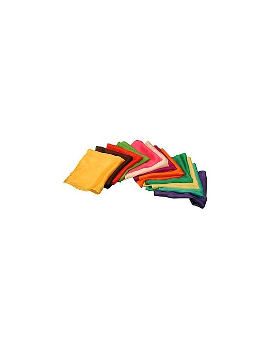 """Pañuelo de seda 45x45 verde oscuro (18"""") Varios Pañuelos 45x45"""