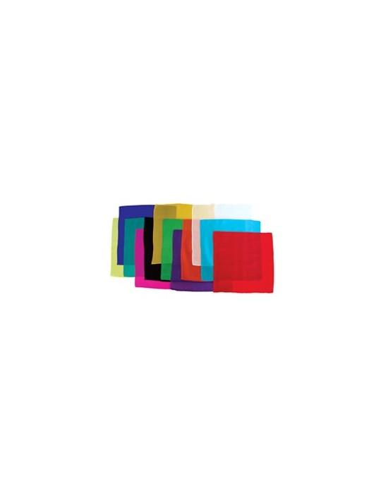 """Pañuelo de seda 30x30 verde oscuro (12"""") Varios Pañuelos 30x30"""