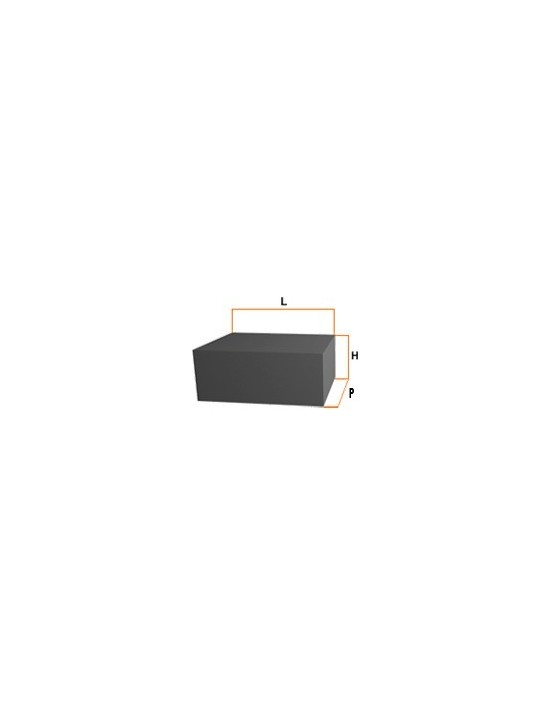Neodimio bloque 4x3x2mm Genérico Neodimio bloque
