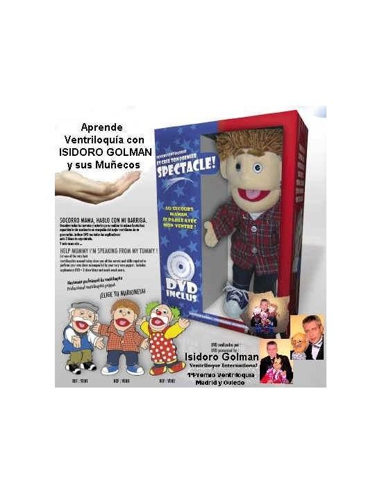 Marioneta de ventriloquía modelo abuelo Oid Magic Marionetas