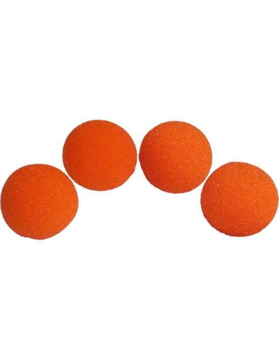"Bolas de esponja 3,8 cm (1,5 "") naranjas Goshman Gomaespuma"