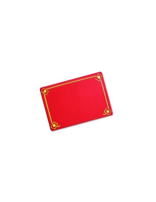 Tapete vdf standard ases impresos (40x28cm) rojo VDF Magic Tapetes