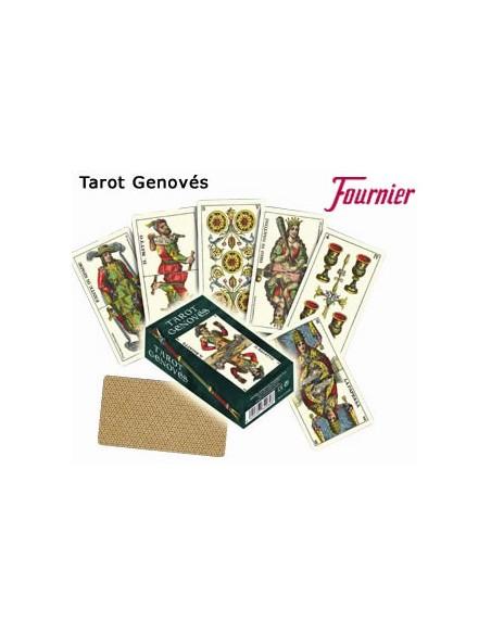 Baraja tarot genovés Fournier Barajas de Tarot