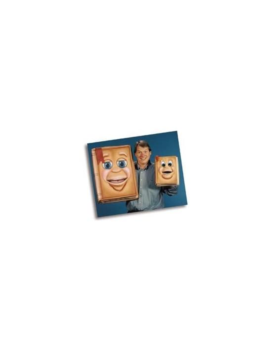 Marioneta de libro parlante para ventriloquía profesional Axtell Puppets Marionetas