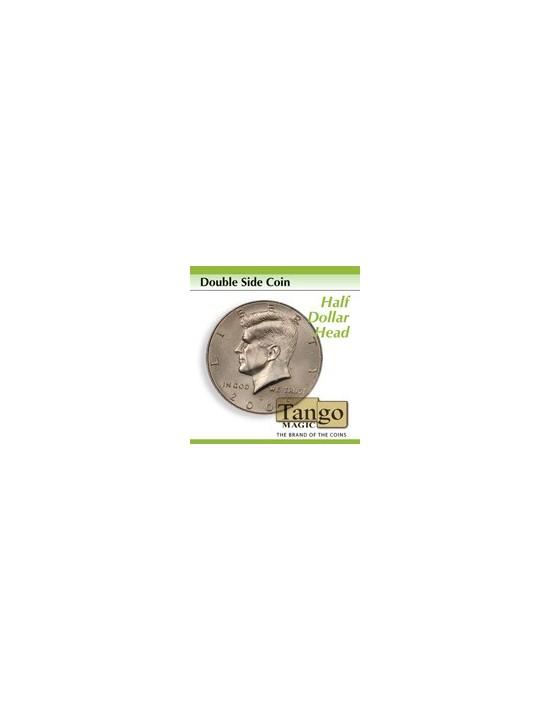 Moneda doble cara medio dólar (cara) (d0035) Tango Magic Monedas y dinero