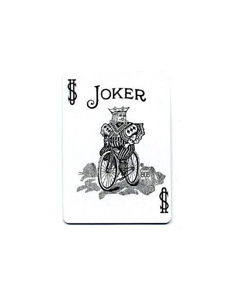 Baraja bicycle 52 jokers azul US Playing Card Co. Bicycle Poker 52 iguales Azul