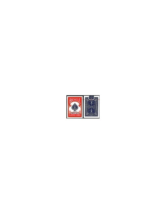 Baraja bicycle 26 cartas iguales y 26 distintas (azul) US Playing Card Co. Otras Cartas Repetidas
