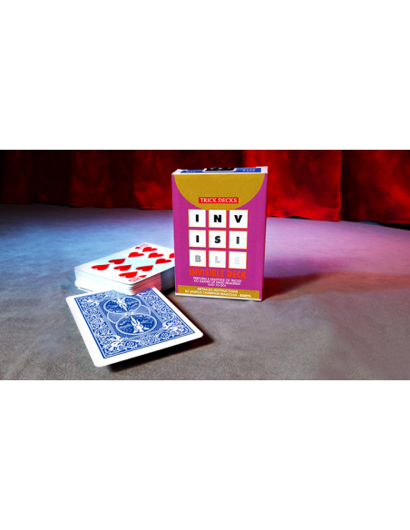 Baraja bicycle invisible (azul) US Playing Card Co. Otras Barajas Especiales