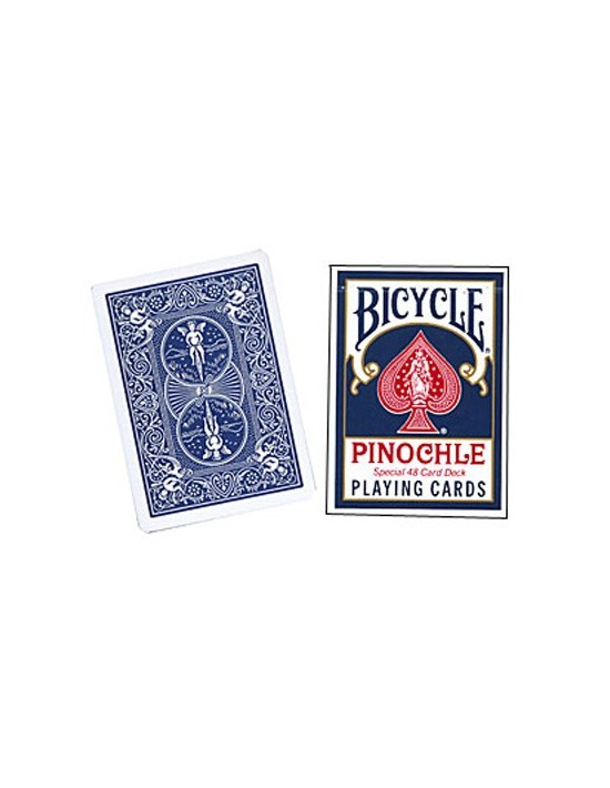 Baraja bicycle pinochle (azul) US Playing Card Co. Otras Barajas Especiales