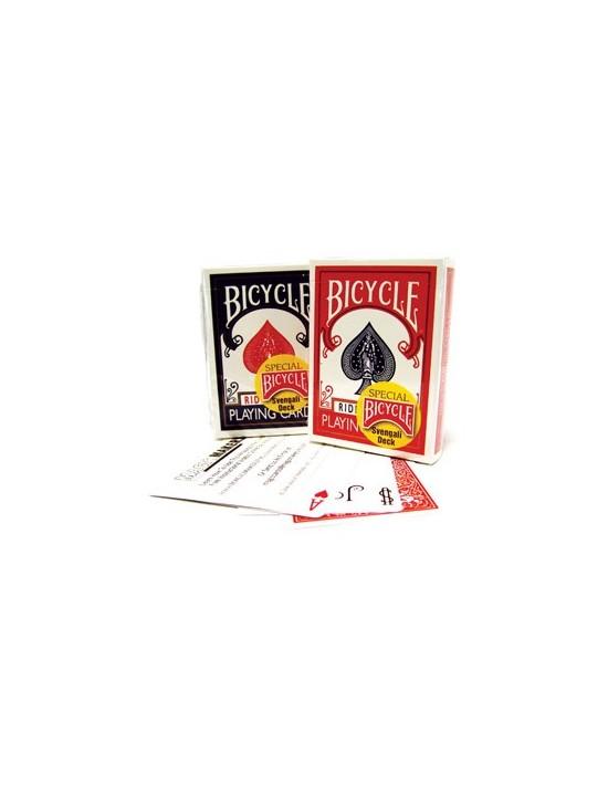 Baraja bicycle radio svengali de fabrica rojo US Playing Card Co. Otras Barajas Especiales