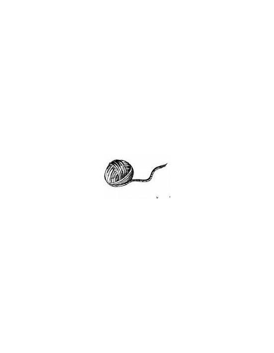 Cuerda para magia delgada negra (6 mm) Asdetrebol Magia Cuerdas