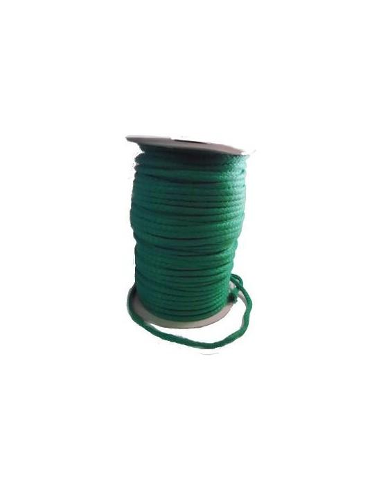 Cuerda para magia delgada verde (6 mm) Asdetrebol Magia Cuerdas