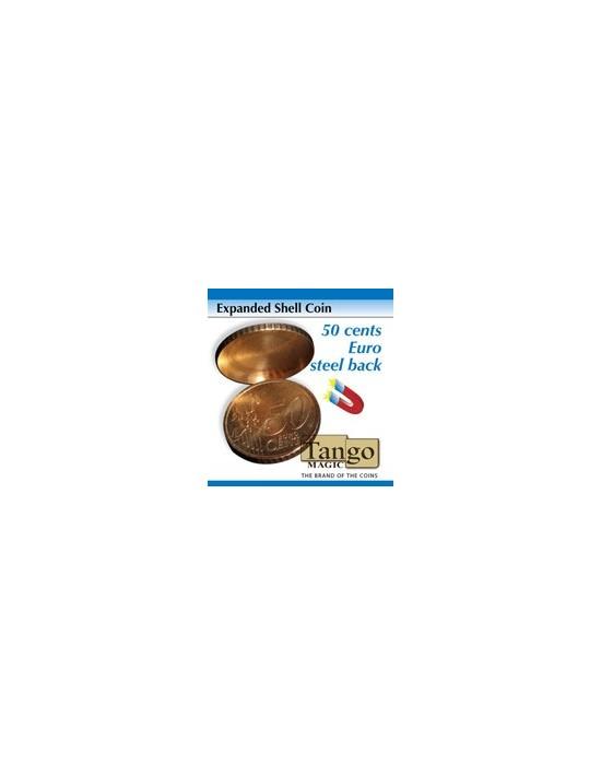Cascarilla expandida 50 cent € (1 lado) magnetizable (e0005) Tango Magic Monedas y dinero