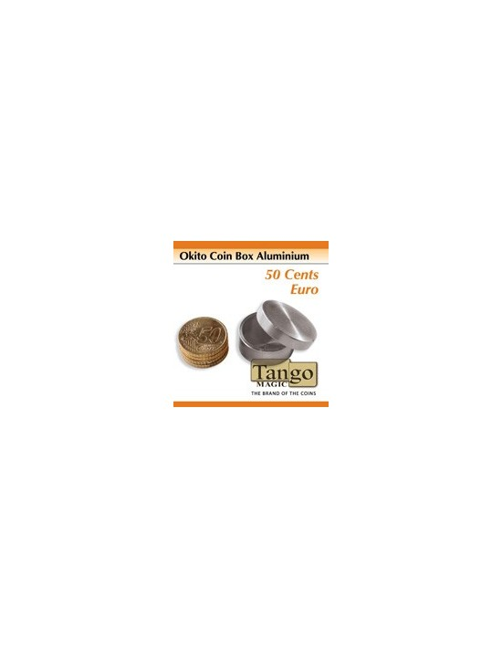 Caja okito aluminio 50 cent € (slot) (a0012) Tango Magic Monedas y dinero
