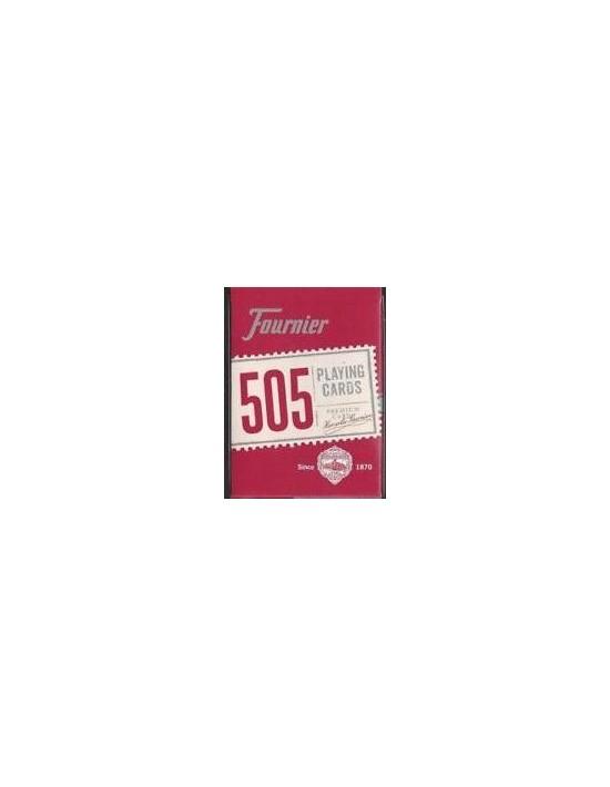 Baraja fournier nº 505 rojo Fournier Póquer