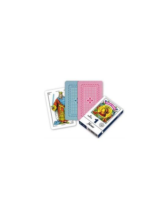 Baraja fournier española nº 1 (40 cartas) rojo Fournier Españolas