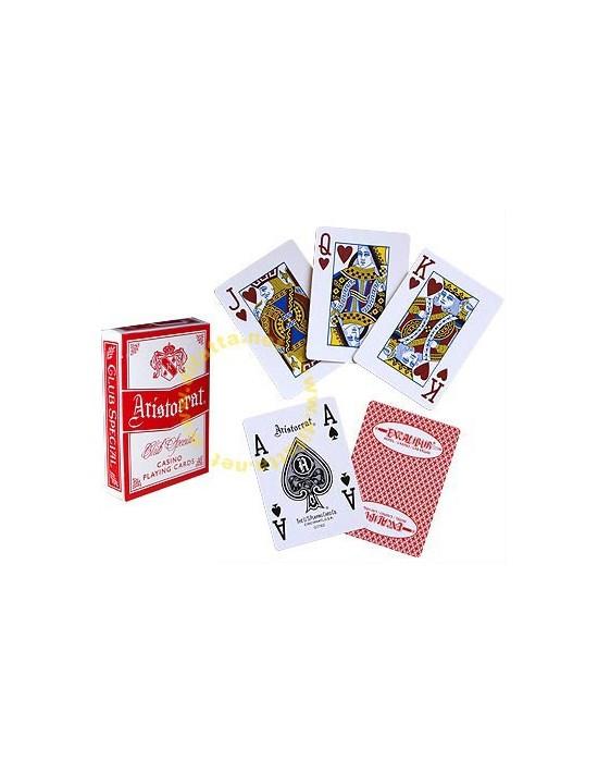 Baraja aristocrat casino excalibur i Índice gigante US Playing Card Co. Póquer