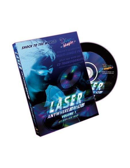 Laser anywhere vol 1 por adrian man dvd Asdetrebol Magia Inglés