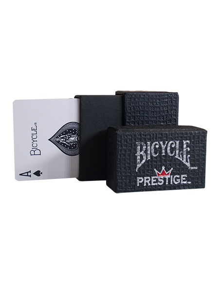 Baraja bicycle prestige plástica (dura-flex) dorso rojo US Playing Card Co. Baraja plástica