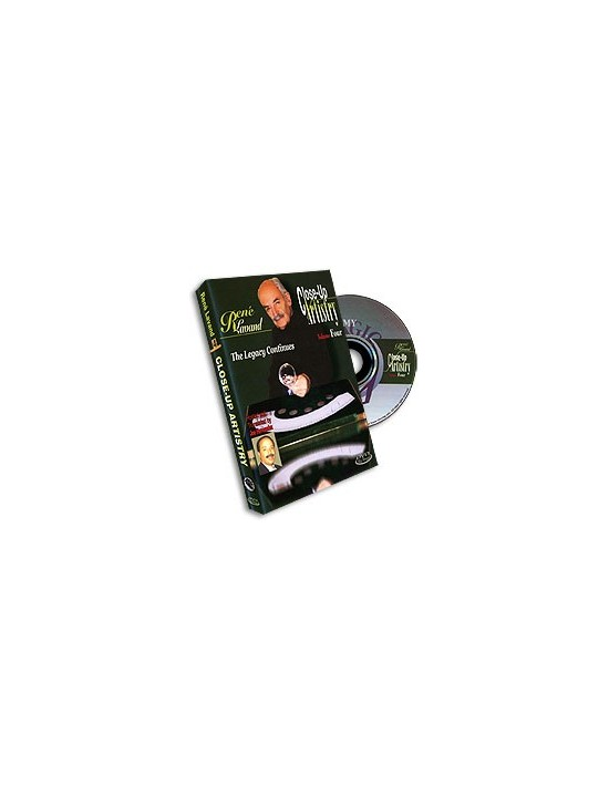 Dvd close-up artist por rene lavand vol. 4 Asdetrebol Magia Inglés