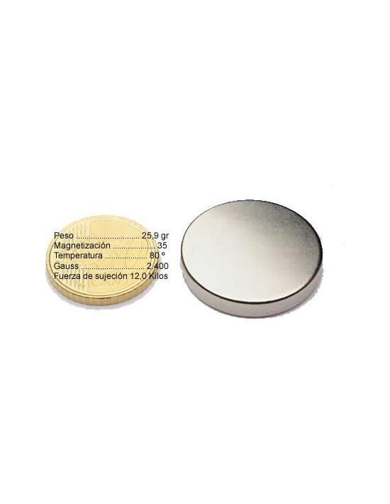 Neodimio disco 30-5 Genérico Neodimio Disco