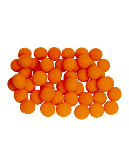 "Bola de esponja 3,8 cm (1,5 "") naranja Goshman Gomaespuma"