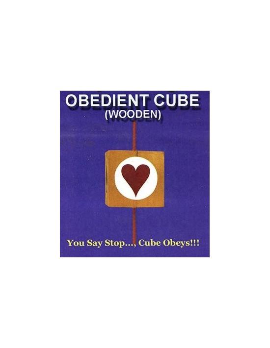 Cubo obediente de madera Uday Mentalismo