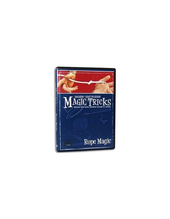 Dvd magia con cuerda fácil Magic Makers Inglés