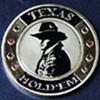 Card guard texas hold'em dorado Genérico Fichas y accesorios de naipes