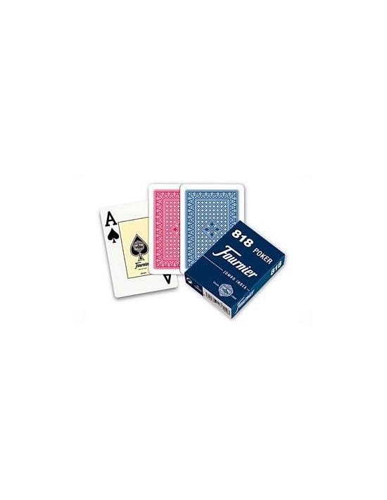 Baraja fournier nº 818 poker azul Fournier Póquer