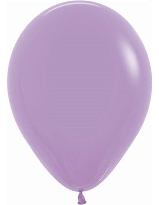 Bolsa de 100 globos sempertex r5 de 13 cm color fashion sólido lila (050) Sempertex Globos Redondos