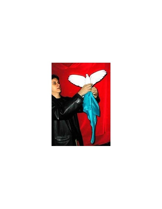 Cargador de paloma para una sola mano blanco Bazar De Magia Pequeñas