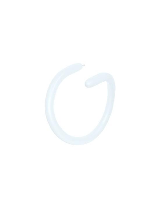 Bolsa de 50 globos sempertex 260 color fashion sólido blanco (005) Sempertex Globoflexia