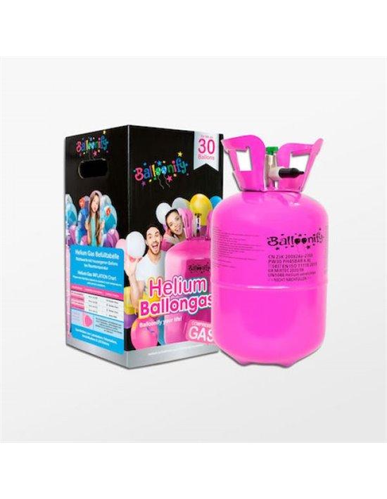 Botella helio un solo uso grande Amscan Helio y accesorios