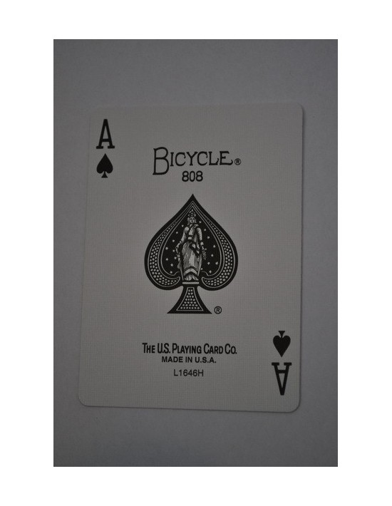 Baraja bicycle 52 cartas iguales dorso azul as de picas US Playing Card Co. Bicycle Poker 52 iguales Azul