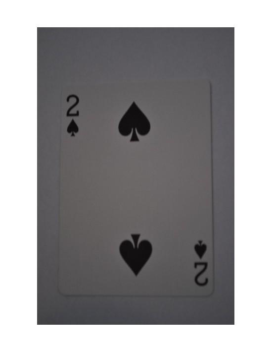 Baraja bicycle 52 cartas iguales dorso azul dos de picas US Playing Card Co. Bicycle Poker 52 iguales Azul